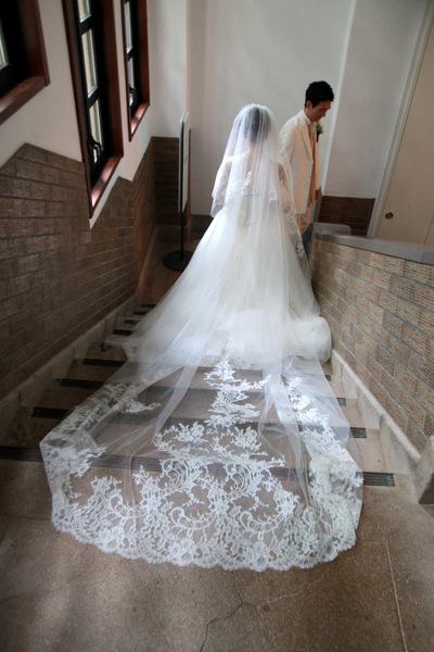 ルヴェソンベール駒場での結婚式、ウェディングドレス
