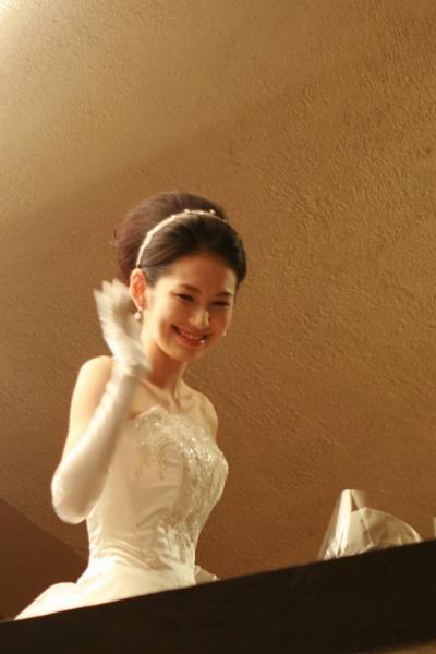 ウェディングドレス、自由学園明日館2
