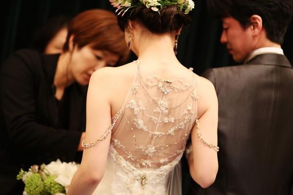 ロアラブッシュでの結婚式でのドレス