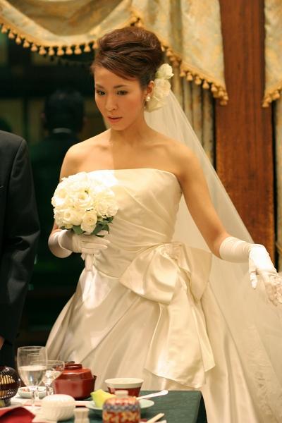 ウェディングドレス、明治記念館