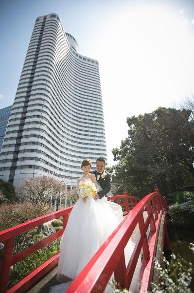 ウェディングドレス、ホテルニューオータニ2