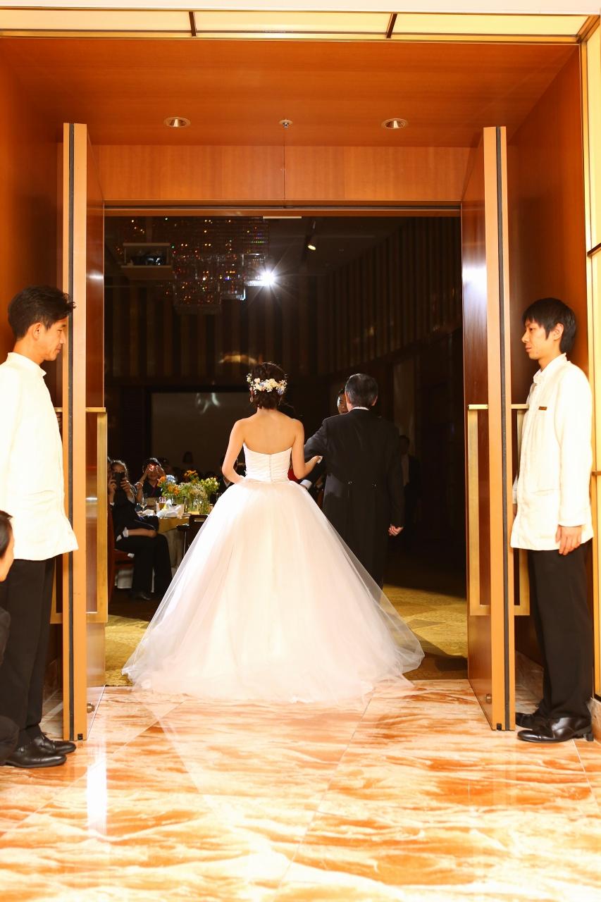 ウェディングドレス、ペニンシュラ東京5