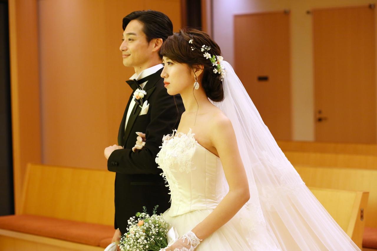ウェディングドレス、ペニンシュラ東京4