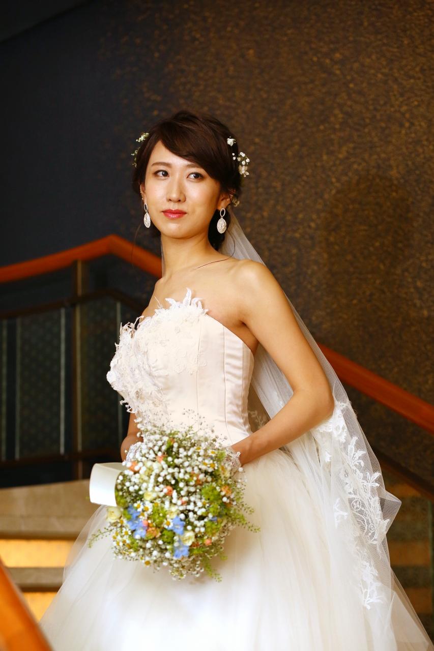 ウェディングドレス、ペニンシュラ東京